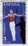 Sellos de Europa - España -  Deportes gimnasia