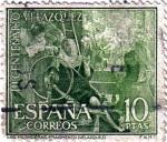 Stamps Spain -  III centenario de la muerte de Velazquez