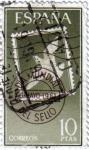 Sellos de Europa - España -  Día mundial del sello 1961