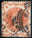 Stamps United Kingdom -  Victoria