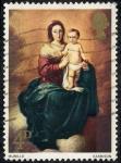 Stamps United Kingdom -  Pintura