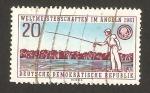 Sellos de Europa - Alemania -  campeonato mundial de pesca en dresde