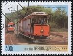 Stamps Guinea -  Trenes