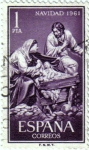Stamps Spain -  La sagrada familia de Gines