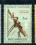 Sellos de Europa - Portugal -  el múndo contra el paludismo