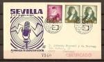 Sellos de Europa - España -  Asamblea de Radiodifusion en Sevilla.