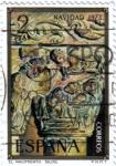 Stamps Spain -  XVI serie de navida El nacimiento Silos