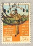 Stamps of the world : Iraq :  3rd aniversario  de la revolucion de la Republica de Iraq