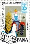 Sellos de Europa - España -  XXV aniversario de la feria del campo