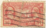 Stamps France -  Legion Americaine