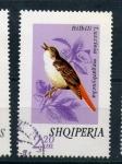 Sellos de Europa - Albania -  luscinia megarbyncha
