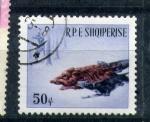 Stamps Europe - Albania -  caza de jabalí