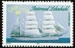 Stamps France -  Barcos - Buque escuela Statsraad Lehmkuhl - Noruega