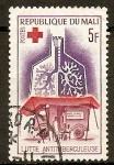 Stamps Africa - Mali -  UNIDAD  MÓVIL  DE  RAYOS  X