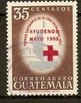 Stamps Guatemala -  CRUZ  ROJA