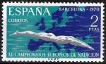Sellos de Europa - España -  XII Edición de los Campeonatos europeos de natación, saltos y waterpolo.