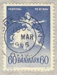 Stamps Europe - Denmark -  Festival ballet