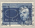 Stamps Denmark -  Niels Bohrs Atomteore