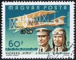 Stamps Hungary -  Aviación