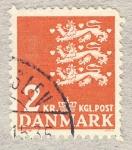 Stamps Europe - Denmark -  Tres leones