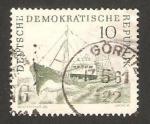 Sellos de Europa - Alemania -  barco de pesca, chalupa