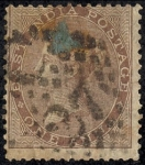 Stamps Asia - India -  Isabel II