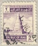 Stamps Iraq -  torre