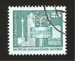 Sellos de Europa - Alemania -  plaza alexandre de berlin