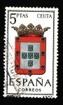 Sellos de Europa - España -  ESCUDO (CEUTA )