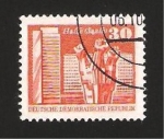 Stamps Germany -  Monumento a Halle