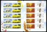 Stamps Europe - Germany -  2399 a 2402 - Las cuatro estaciones del año