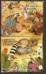 Stamps Mexico -  ESPECIES  DEL  DESIERTO