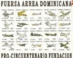 Sellos de America - Rep Dominicana -  FUERZA  AÉREA