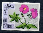 Stamps United Arab Emirates -  Geranio