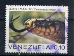 Stamps of the world : Venezuela :  serpiente rabo amarillo