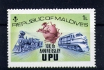 Stamps Asia - Maldives -  Centenario