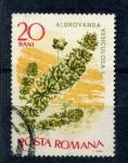 Stamps Romania -  aldrovanda vesiculosa l.