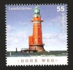 Sellos de Europa - Alemania -  2377 - Faro de Hohe Weg