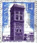 Stamps Spain -  Paisajes y monumentos 1982 Torre de San Martín