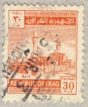 Stamps Asia - Iraq -  mezquita