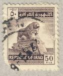 Sellos de Asia - Irak -  monumento