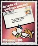 Stamps : America : Mexico :  Código postal