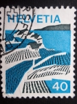 Stamps Europe - Switzerland -  HELVETIA - CASAS