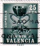 Sellos de Europa - España -  Valencia. El Santo Grial 1968