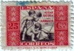 Stamps Spain -  Beneficencia. Alegoría infantil 1934