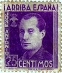 Stamps Europe - Spain -  José Antonio Primo de Rivera