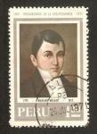 Stamps : America : Peru :  precursores de la independencia, mariano melgar
