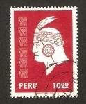 Sellos de America - Perú -  inca