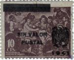 Sellos del Mundo : Europa : España : Beneficencia. 1941 Los borrachos de Velazquez