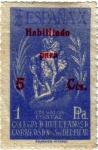 Stamps Europe - Spain -  Colegio de huérfanos de correos. Nuestra señora del Pilar